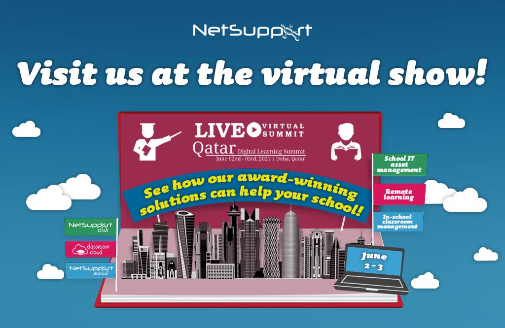 Visit us virtually at the Qatar Digital Learning Summit!