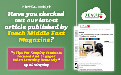 Have you checked out our latest article published by Teach Middle East Magazine?
