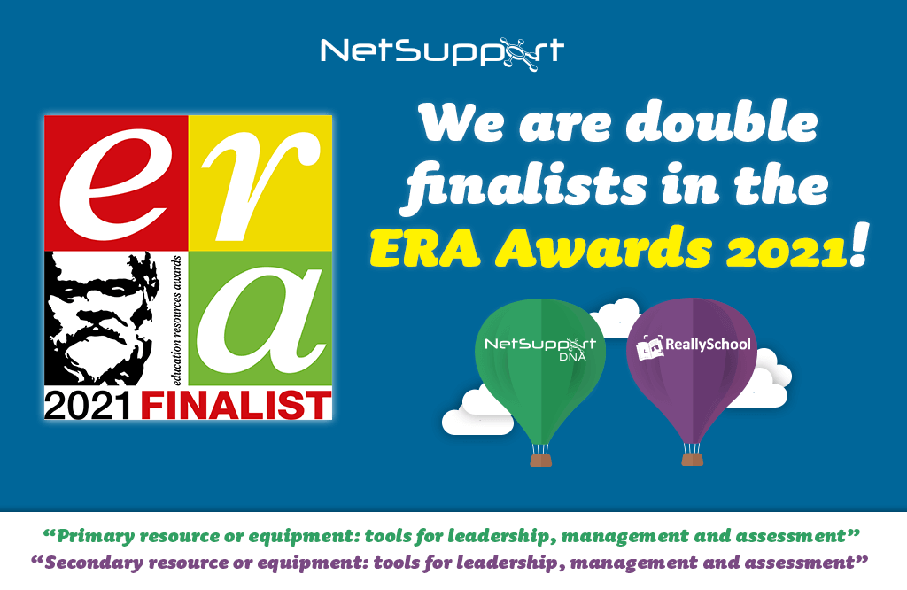 NetSupport DNA and ReallySchool are awards finalists!