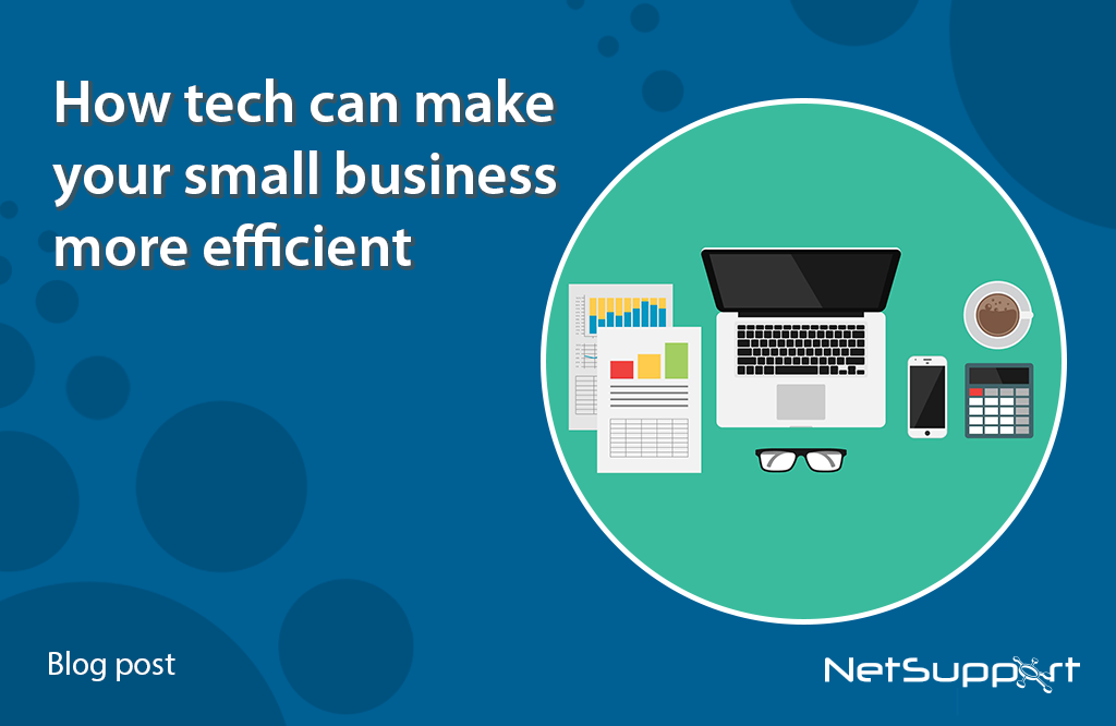 How tech can help make your small business more efficient
