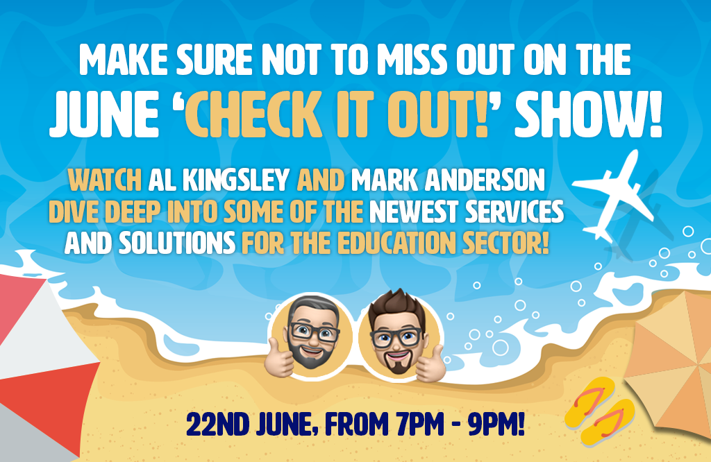 Don't miss out on the June 'Check it out!' show