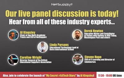 Our LIVE panel discussion is today – join us!