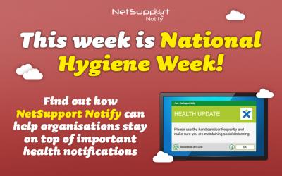 This week is National Hygiene Week!