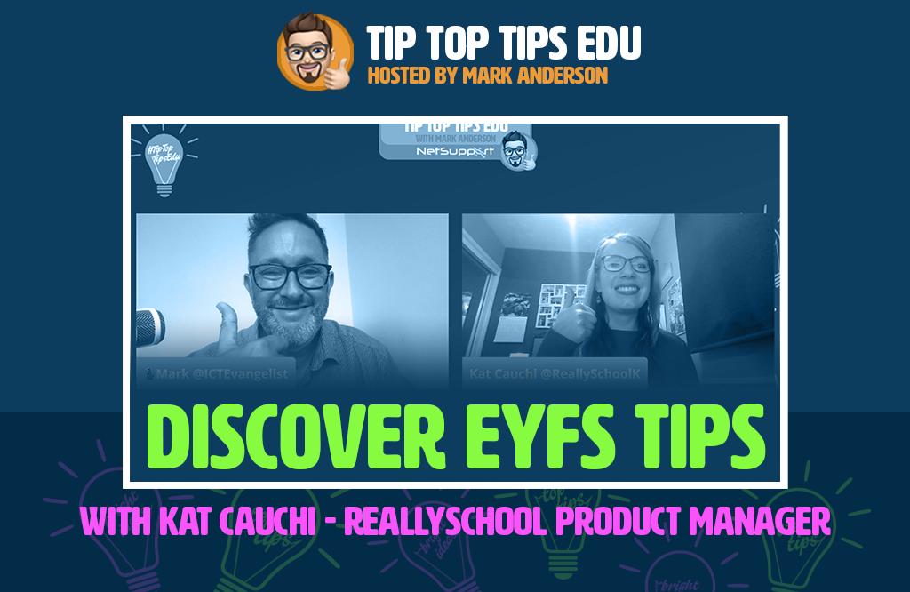 Discover EYFS tips from Kat Cauchi on #TipTopTipsEdu