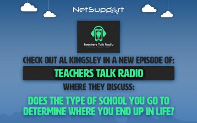 Check out Al Kingsley on Teachers Talk Radio!