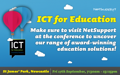 Join us at ICT for Education's National Conference today!