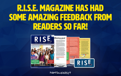 The first issue of R.I.S.E magazine has been a great success!