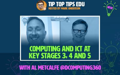 New episode of #TipTopTipsEdu with Al Metcalfe – watch now!