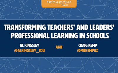 Listen to Al Kingsley chat with Craig Kemp about professional learning