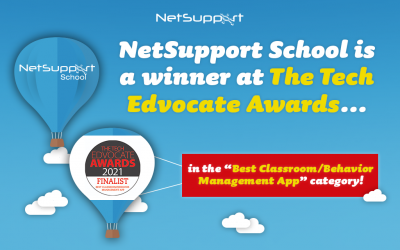 NetSupport School won 'Best Classroom/Behaviour Management App or Tool' in the TechEdvocateAwards!