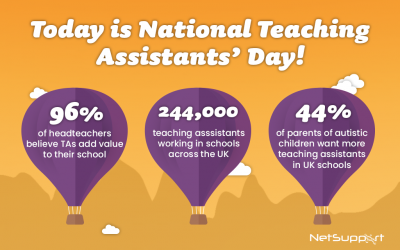 Today is National Teaching Assistants' Day