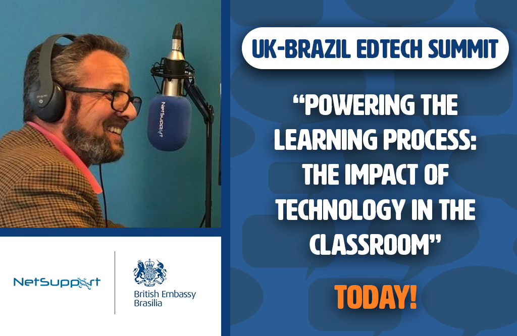 Join us today at the UK-Brazil EdTech Summit round-table discussion