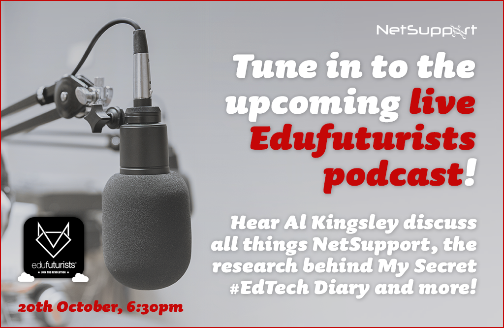 Tune in to the live Edufuturists podcast today!