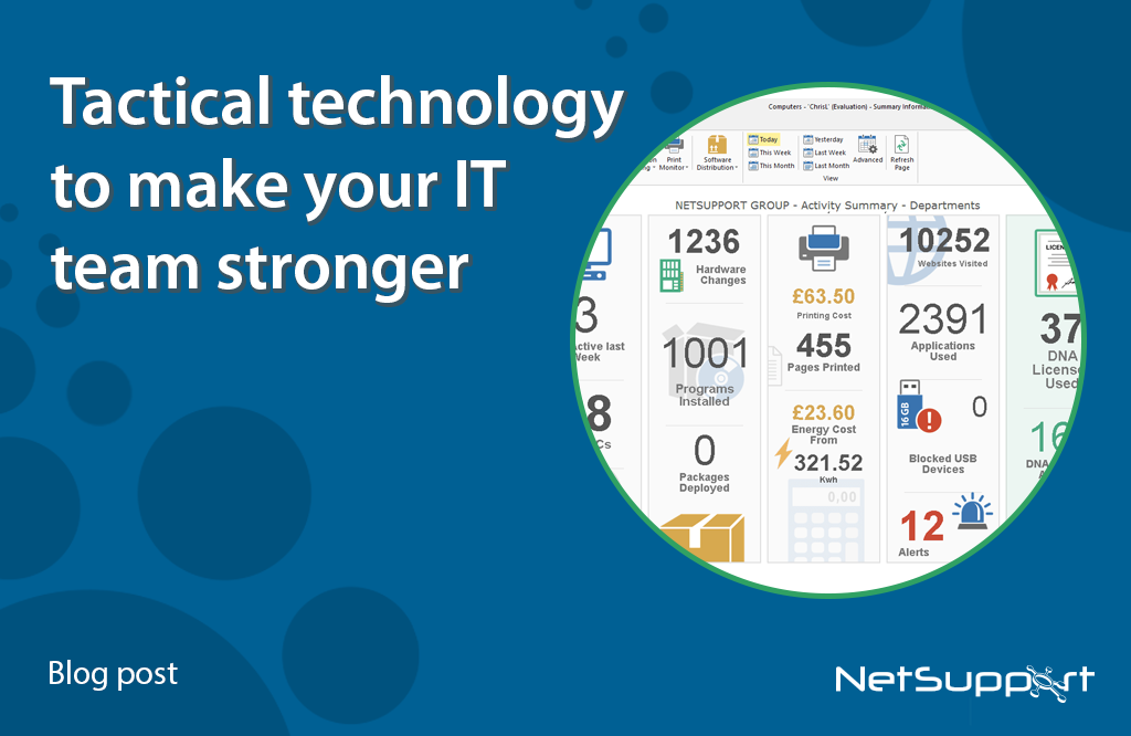Tactical technology to make your IT team stronger